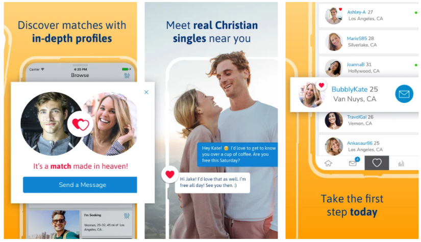 ChristianMingle dating app