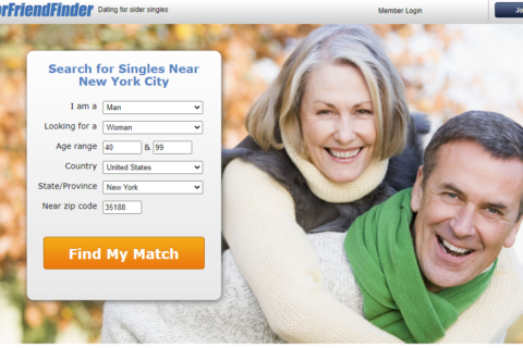 SeniorFriendFinder dating site