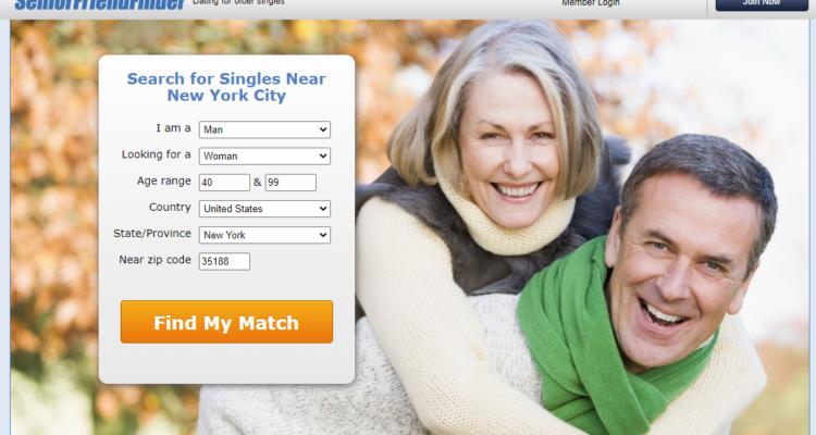 SeniorFriendFinder dating site