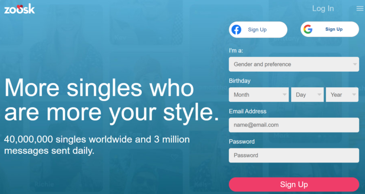 Zoosk dating site review