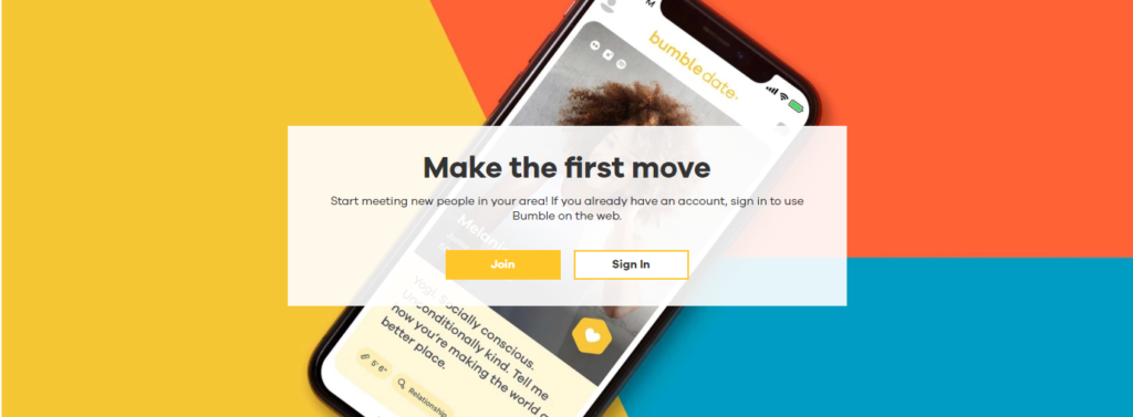 Bumble Sign Up Process