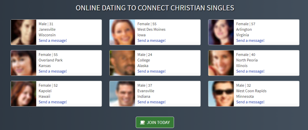 Christian Cafe Messaging System