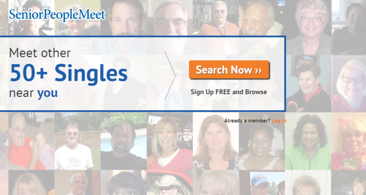 seniorpeoplemeet dating site review