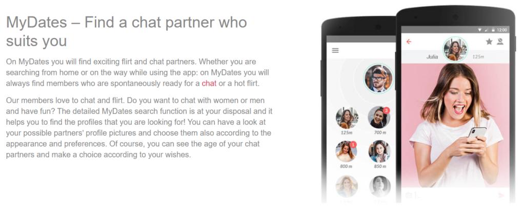 MyDates dating site