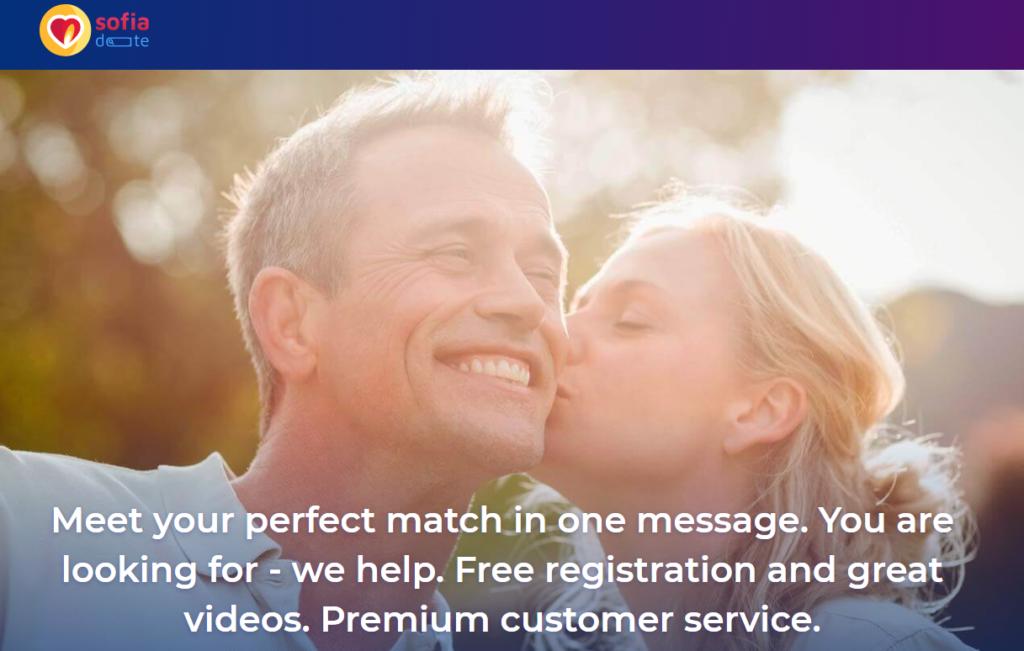 The SofiaDate dating site