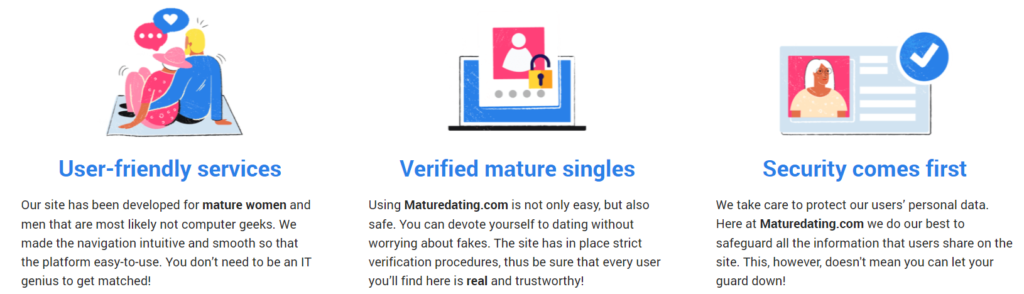 Mature Dating pros
