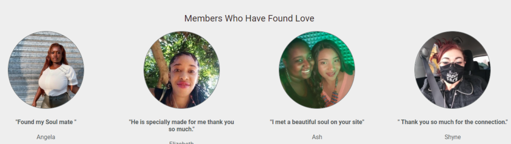 BlackCupid testimonials